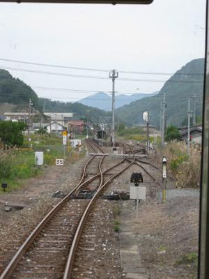 美祢線 美祢駅~重安駅